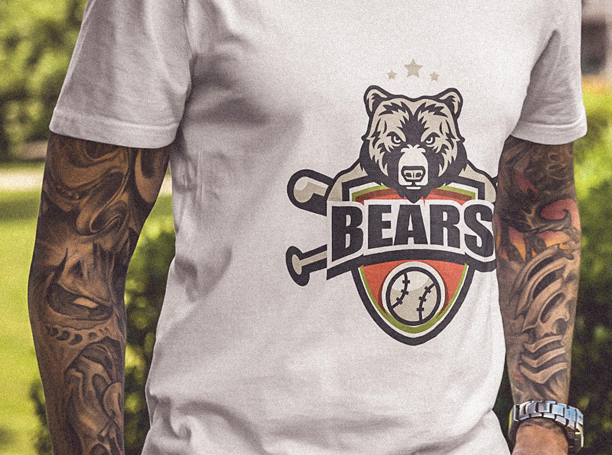 Bears B.S.C. logo design
