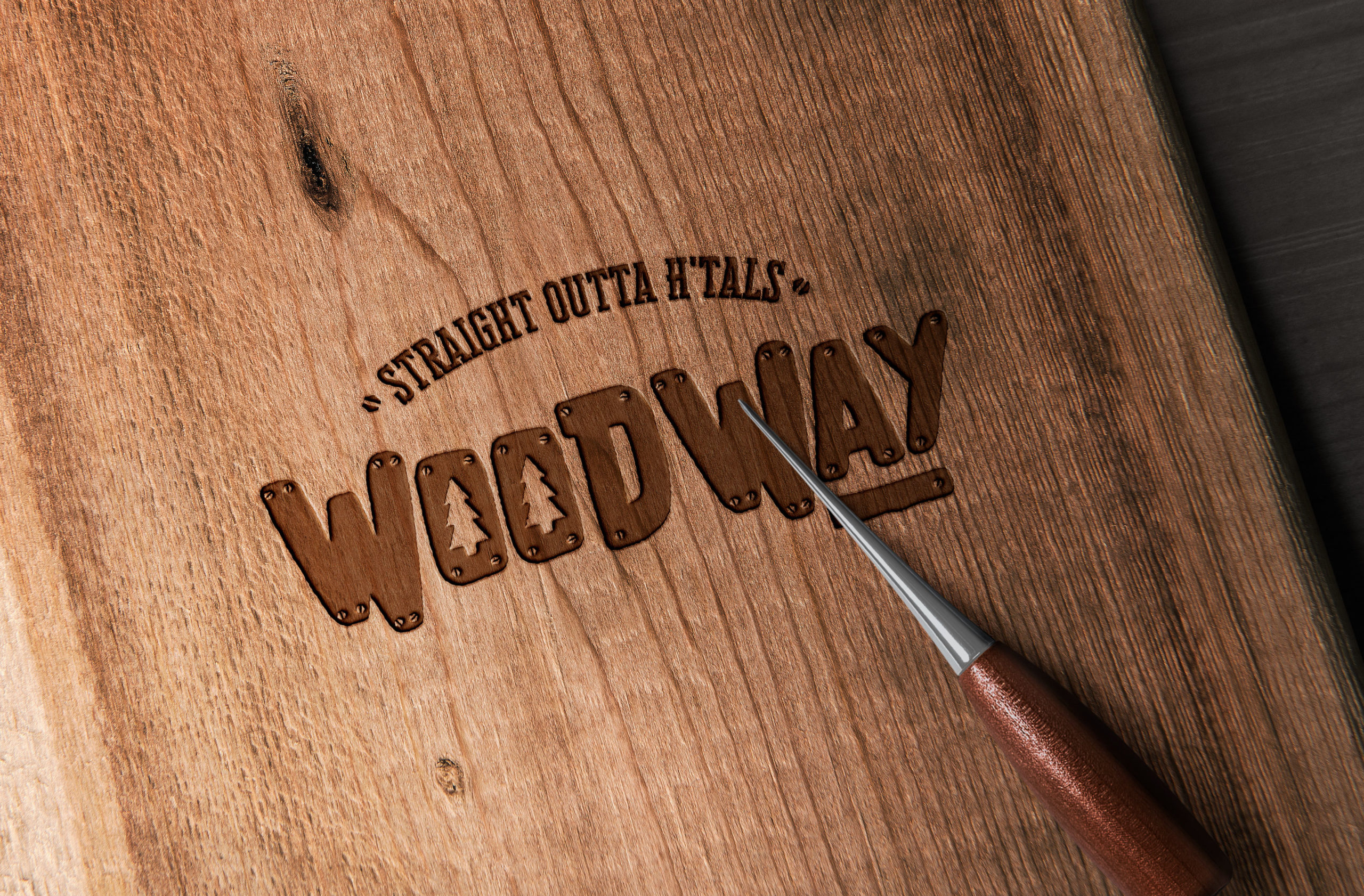 WoodWay corporate identity