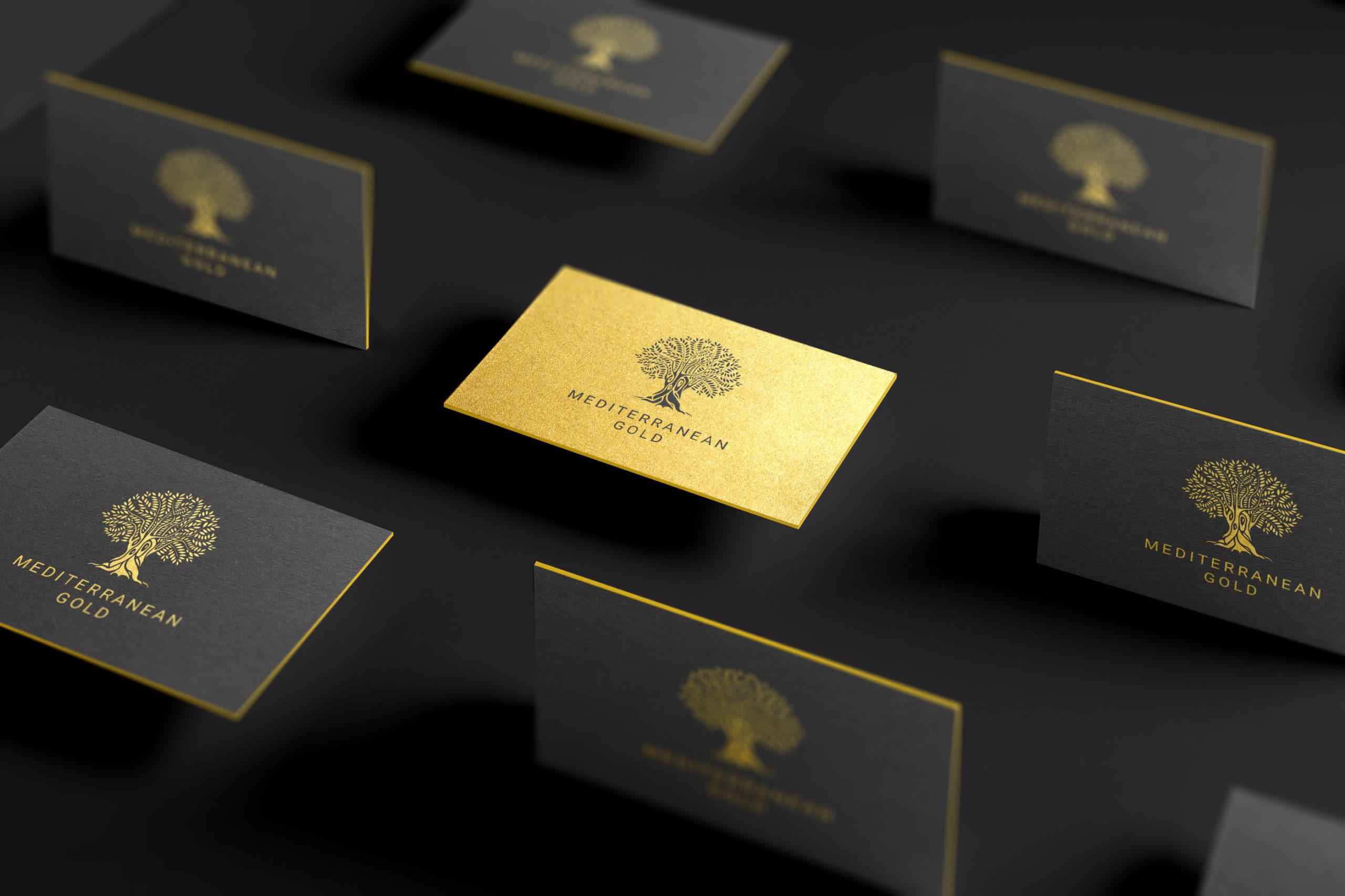 Mediterranean Gold brand identity