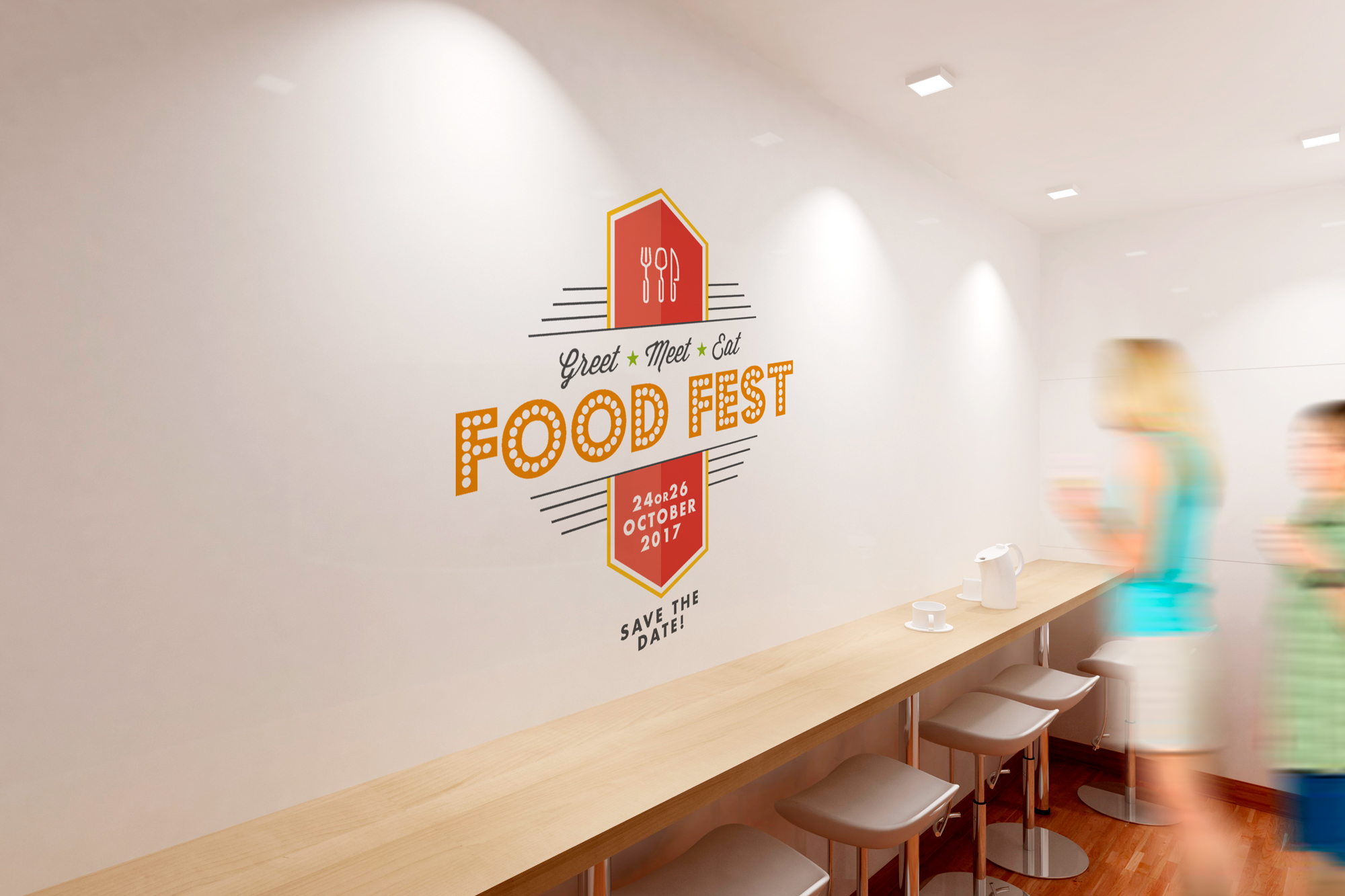 GEA & Griffith Foods food fest event branding